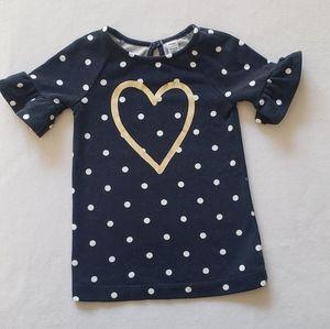 Toddler heart dress